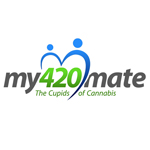 Logo for My420mate