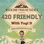 Logo for 420 Yoga Retreats