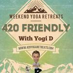 Logo for 420 Yoga Retreats