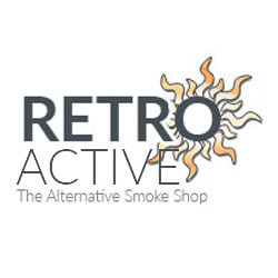 Logo for Retro Active Smoke Shop