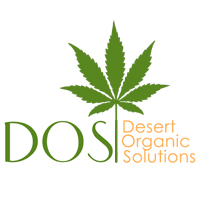 Logo for Desert Organic Solutions (DOS)