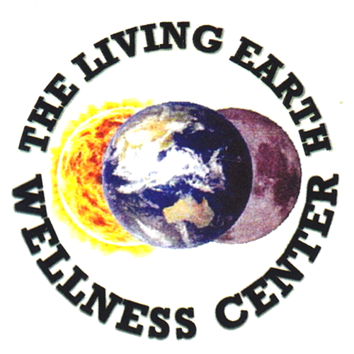 Logo for The Living Earth Wellness Center