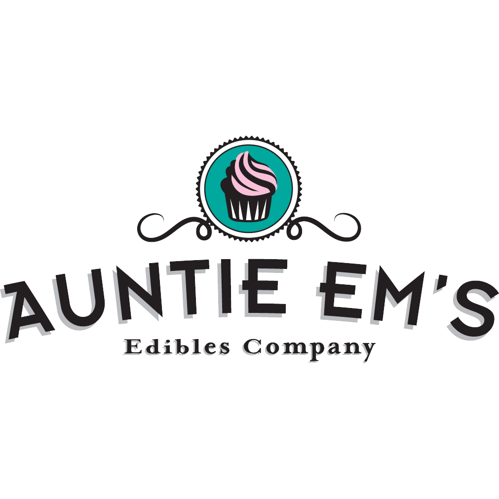 Logo for Auntie Em's Edibles Company