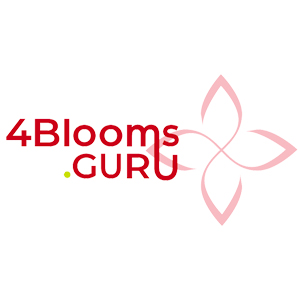 Logo for 4 blooms