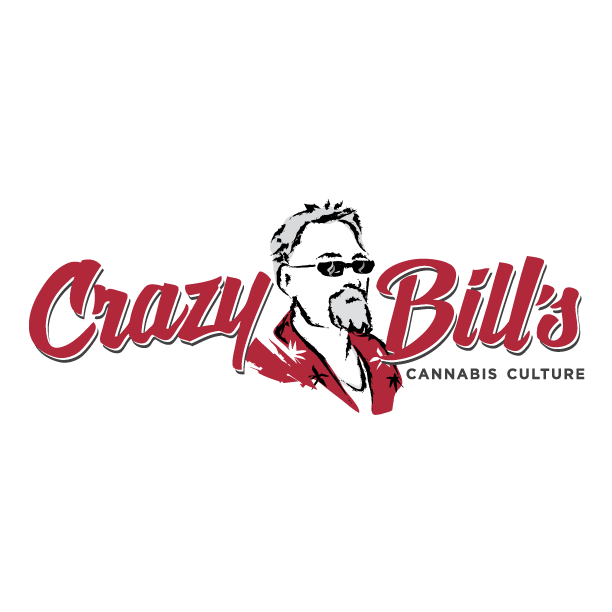 Logo for Crazy Bill's Cannabis Culture