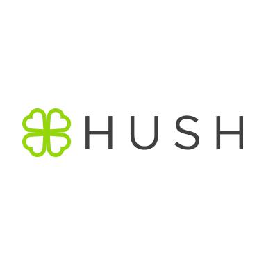 Logo for HUSH Canna