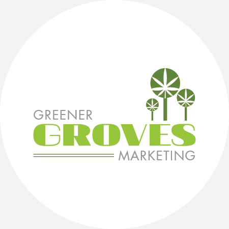 Logo for Greener Groves Marketing