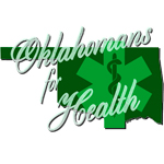 Logo for Oklahomans for Health