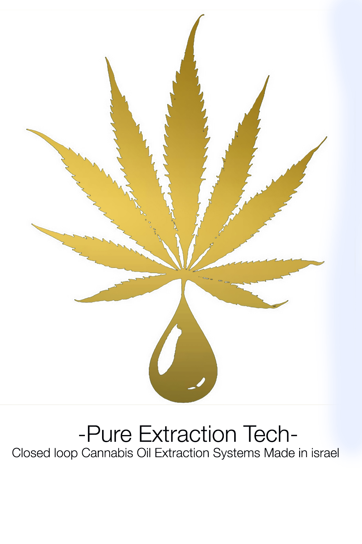 Logo for Pure Extraction Technology
