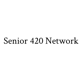 Logo for Senior 420 Network