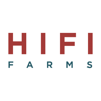Logo for HIFI Farms