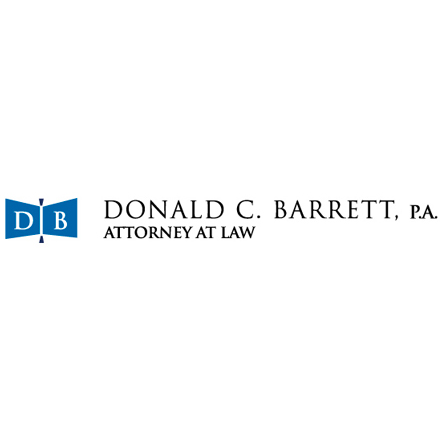 Logo for Donald C. Barrett, P.A.
