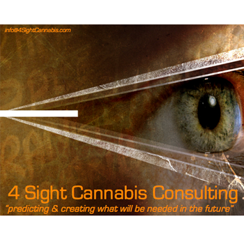 Logo for 4 Sight Cannabis Consulting