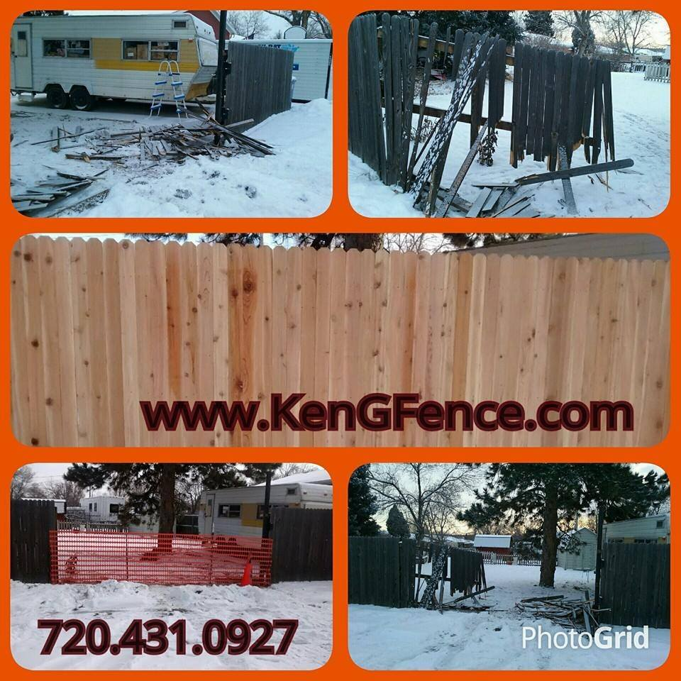 Logo for KenG Fence