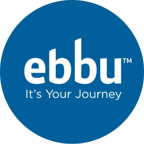Logo for ebbu