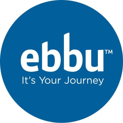 Logo for ebbu