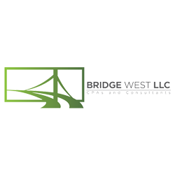 Logo for Bridge West CPAs and Consultants, LLC