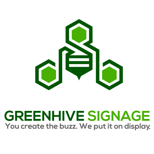 Logo for Greenhive Signage & Compliance