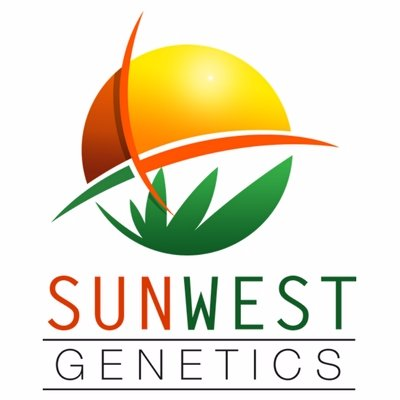 Logo for Sun West Genetics