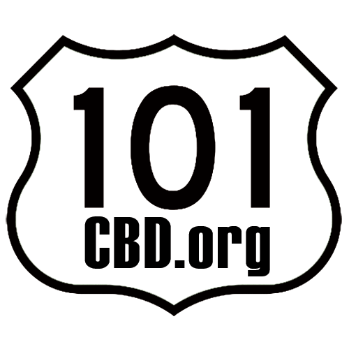 Logo for 101 CBD
