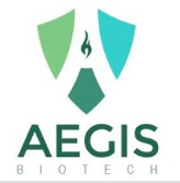 Logo for Aegis Biotech