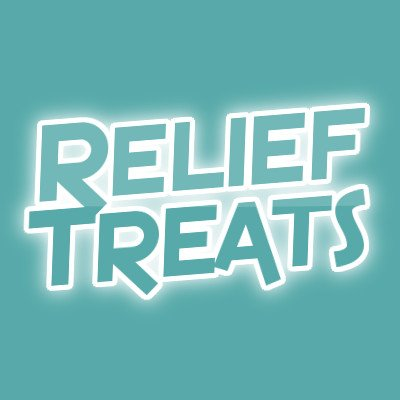 Logo for Relief Treats