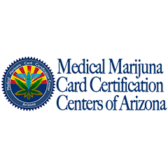 Logo for Medical Marijuana Card Certification Centers of Arizona