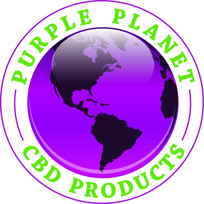 Logo for Purple Planet CBD