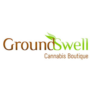 Logo for GroundSwell Cannabis Boutique