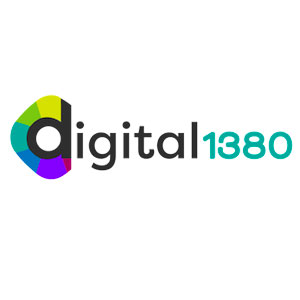 Logo for Digital 1380