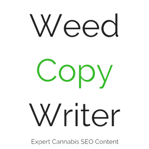 Logo for Weed Copywriter