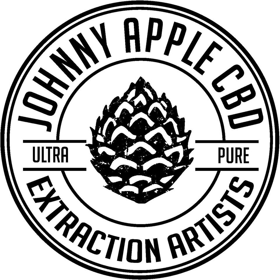 Logo for Johnny Apple CBD