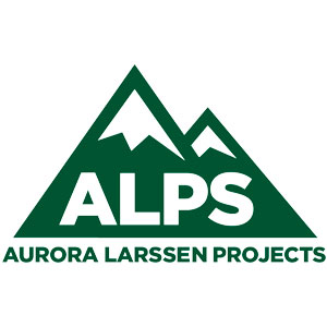 Logo for Aurora Larssen Projects (ALPS)