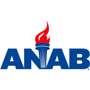 Logo for ANSI National Accreditation Board (ANAB)
