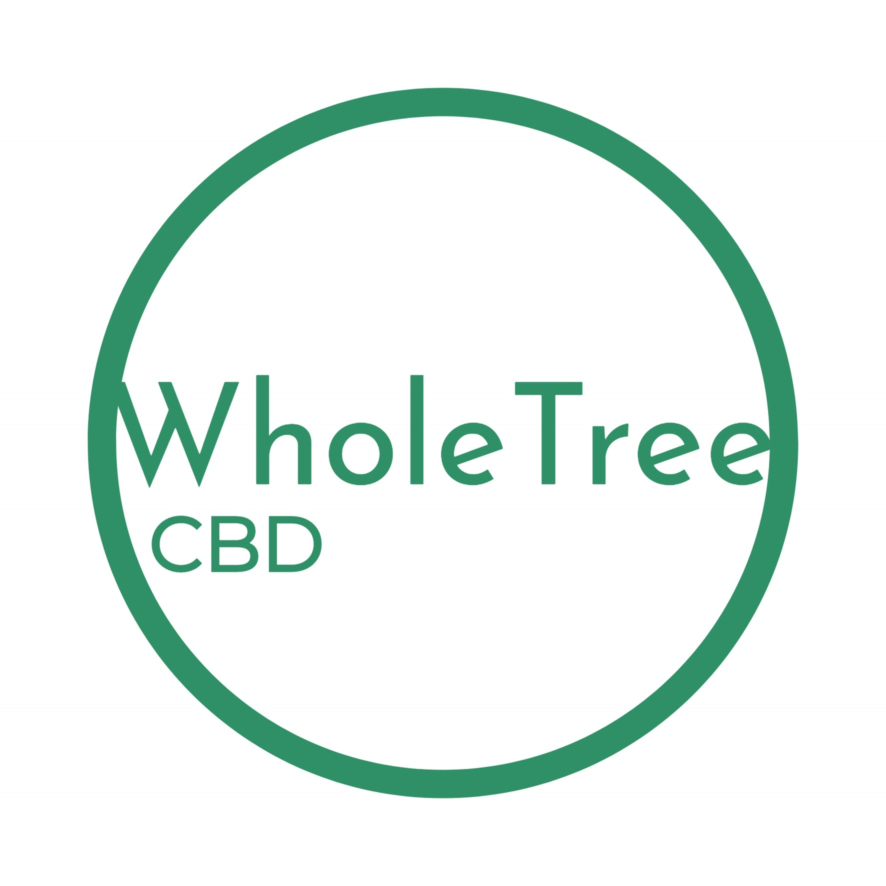 Logo for WholeTree CBD