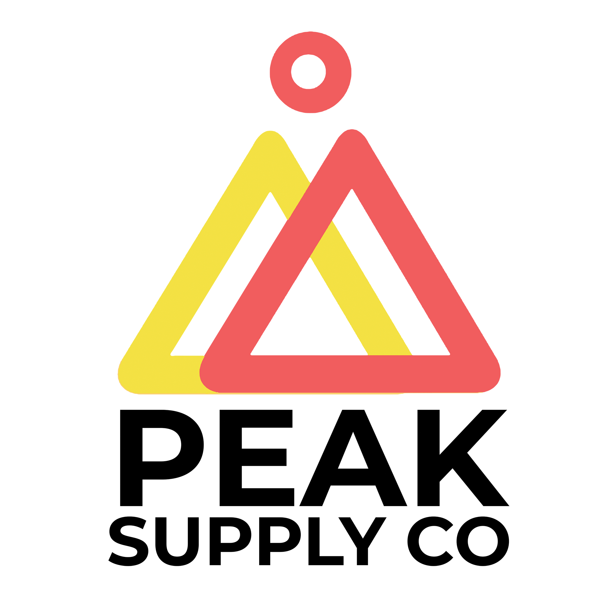Logo for Peak Supply Co