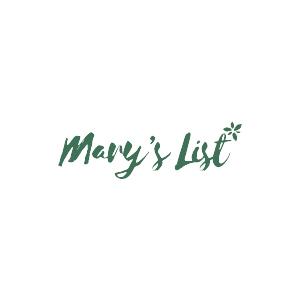 Logo for Mary's List