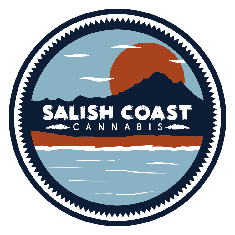 Logo for Salish Coast Cannabis