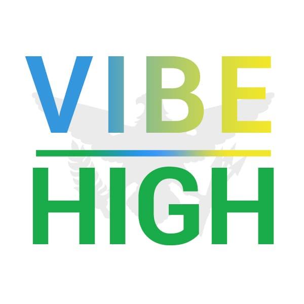 Logo for VIBE HIGH