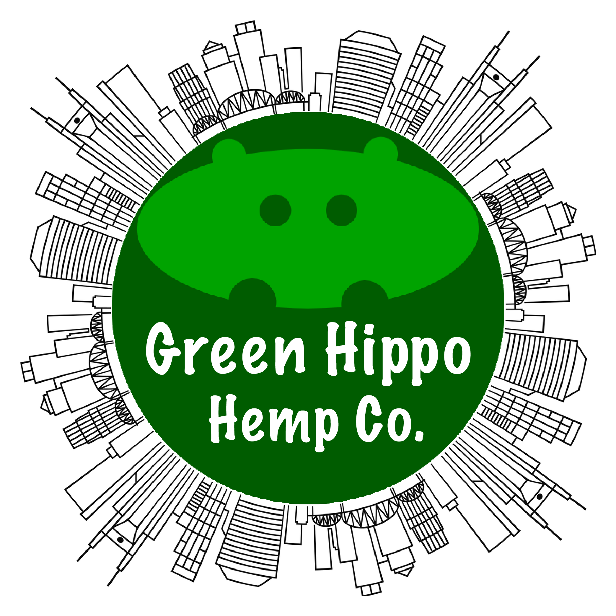 Logo for Green Hippo Dispensary & Dutch Coffeeshop