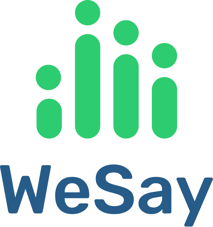Logo for WeSay