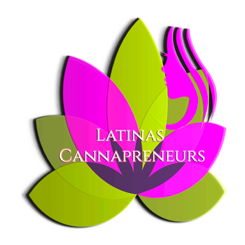 Logo for Latinas Cannapreneurs