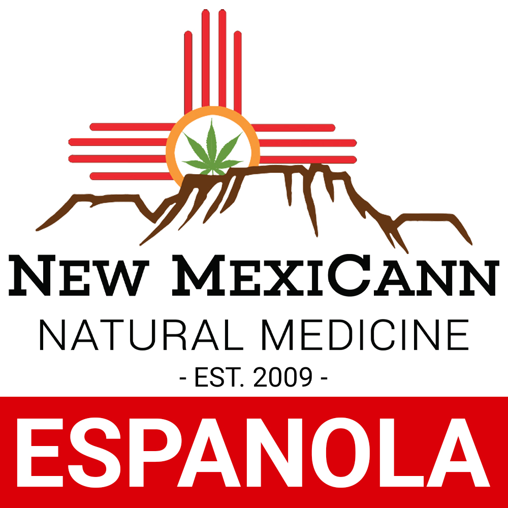 Logo for New MexiCann Natural Medicine- Espanola