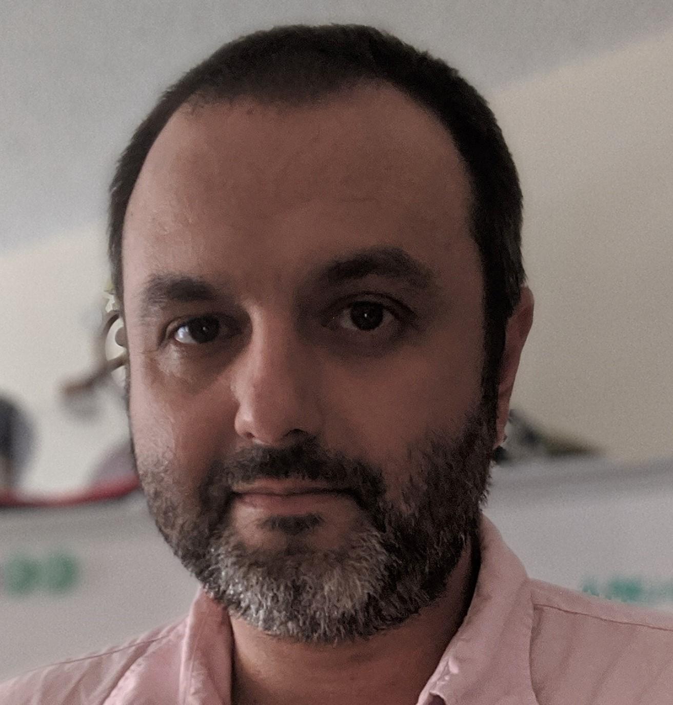 Portrait of Cris Carillo